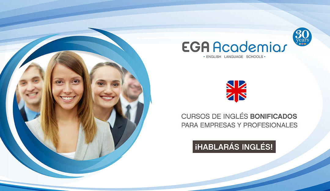 Cursos de inglés bonificados para empresas. FUNDAE.