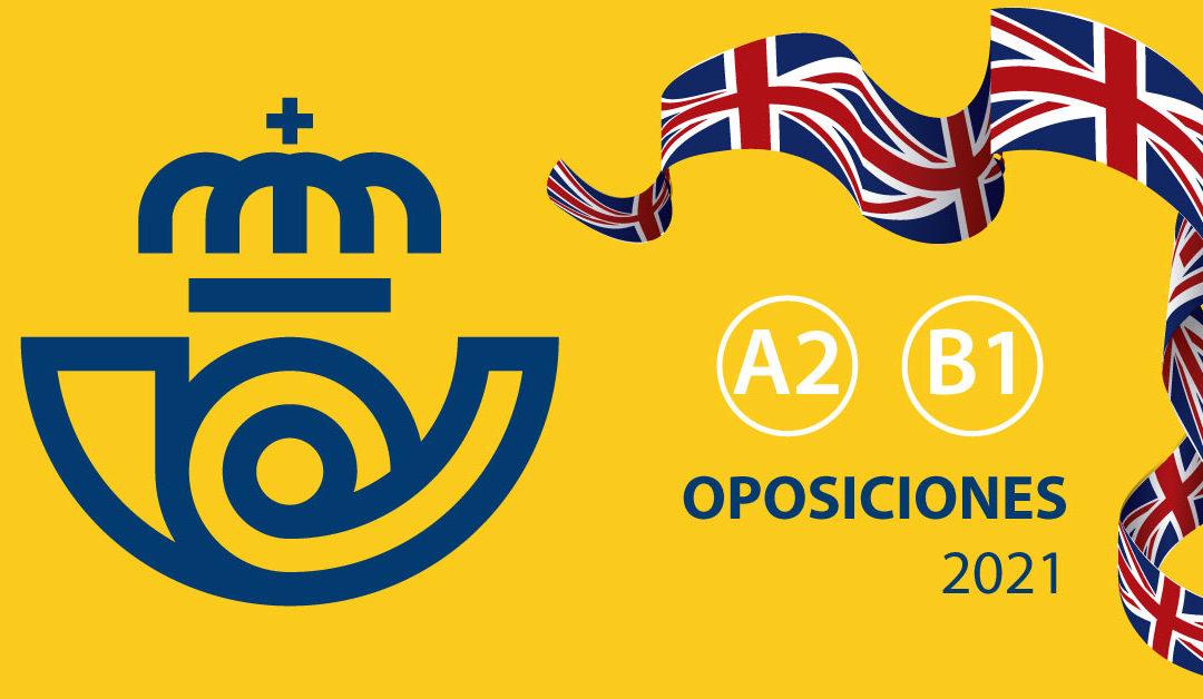 Cursos de inglés para las Oposiciones a Correos 2021